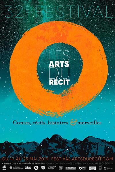affiche festival arts récit 2019 isère grenoble