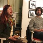 Rencontre Élie Guillou et Maryvonne Mathéoud